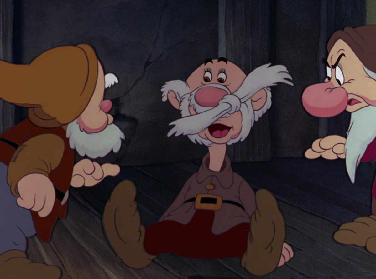 atchoum sneezy disney personnage character blanche-neige sept nains snow white seven dwarfs
