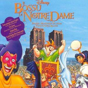 bossu notre-dame Disney bande originale soundtrack album hunckba