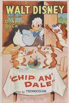 Walt Disney Animation poster affiche donald