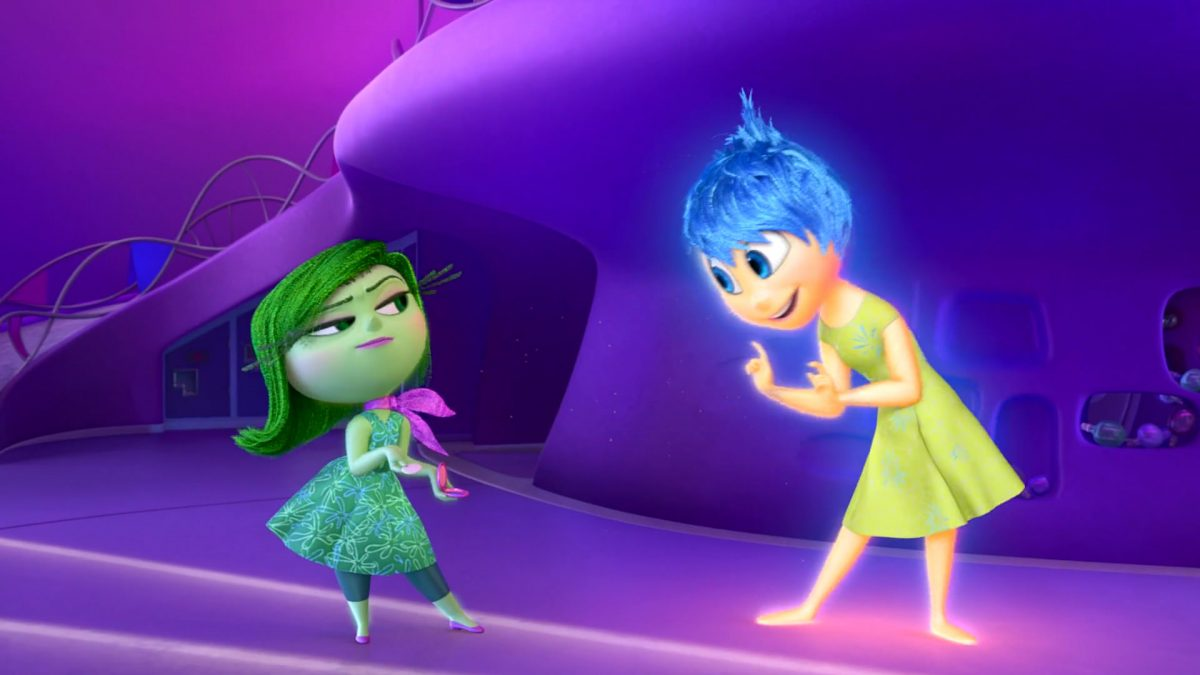 dégout disgust personnage character vice versa inside out disney pixar