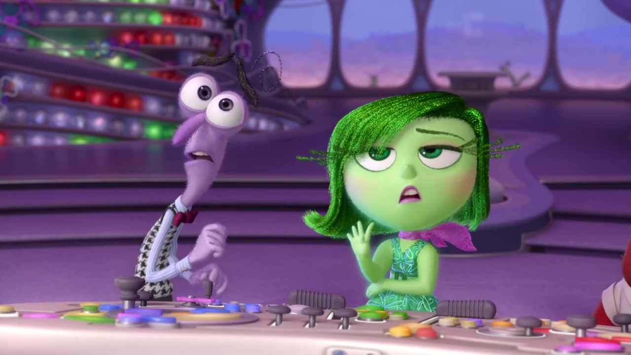 dégoût disgust personnage character  vice versa inside out