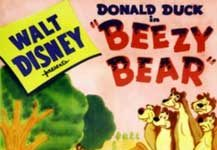 donald abeille beezy bear Walt Disney Animation studio Disney poster affiche