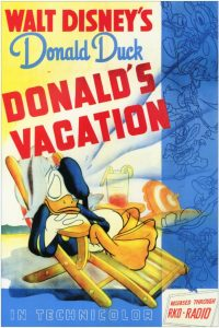 donald camping Walt Disney Animation studio Disney poster affiche