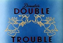 donald double trouble Walt Disney Animation studio Disney poster affiche