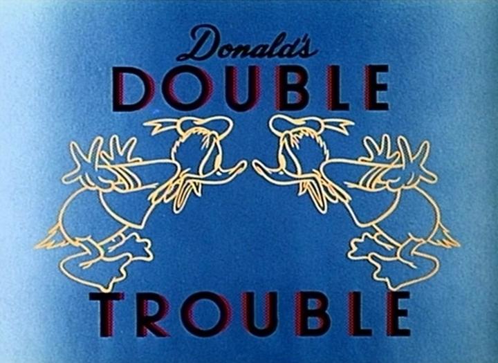 donald double trouble Walt Disney Animation studio Disney poster affiche