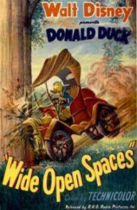 donald grand espace wide open spaces Walt Disney Animation studio Disney poster affiche