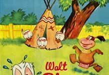 donald pygme canibale spare rod Walt Disney Animation studio Disney poster affiche