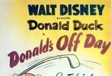 donald sortie Walt Disney Animation studio Disney poster affiche