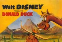 dude duck Walt Disney Animation poster affiche donald