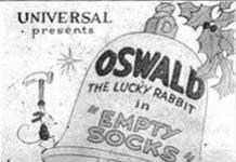 empty socks Walt Disney Animation poster affiche oswald