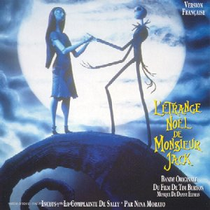 etrange noel monsieur jack nightmare before christmas Disney bande originale soundtrack album