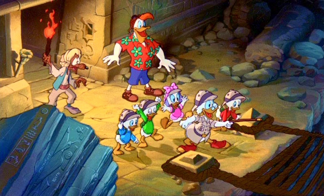 Image bande piscou ducktales trésor lampe perdue treasure lost lamp disney disneytoon