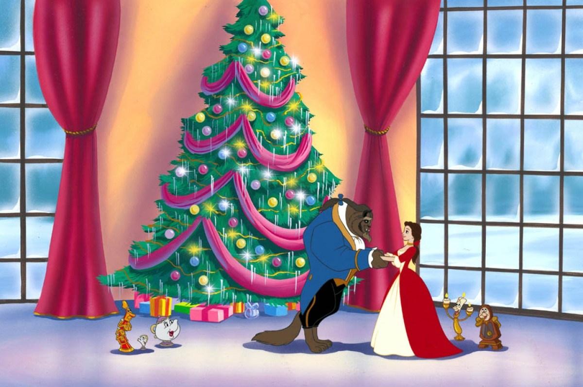 Image belle bête 2 noël enchanté enchanted christmas disney disneytoon