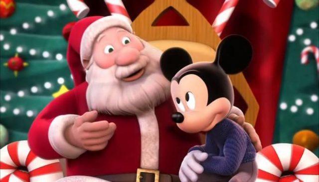 image mickey deux fois noel twice christmas disney