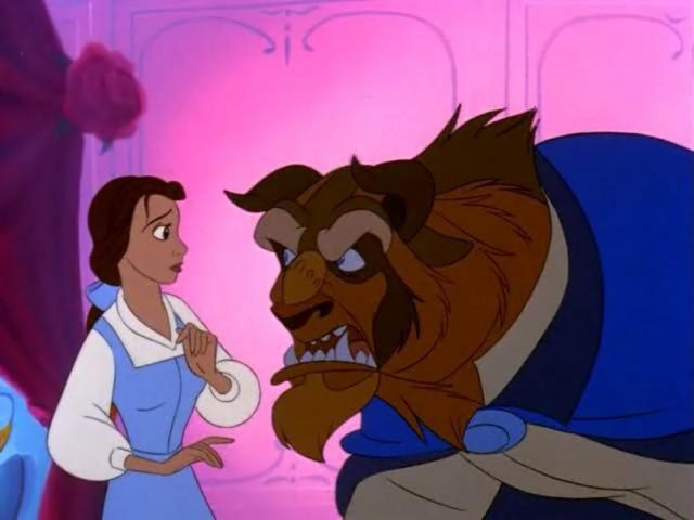 image monde magique belle bête beauty beast magical world disney