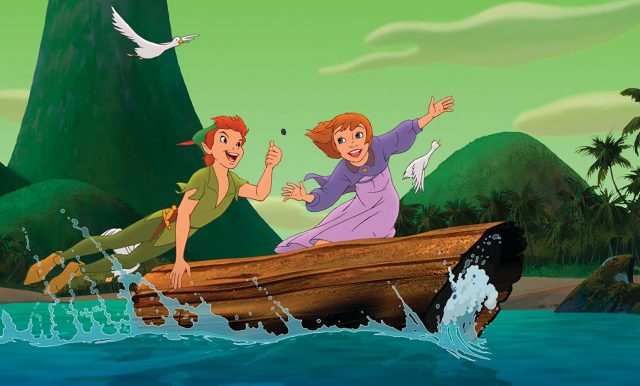 image peter pan 2 retour return pays imaginaire never land disney