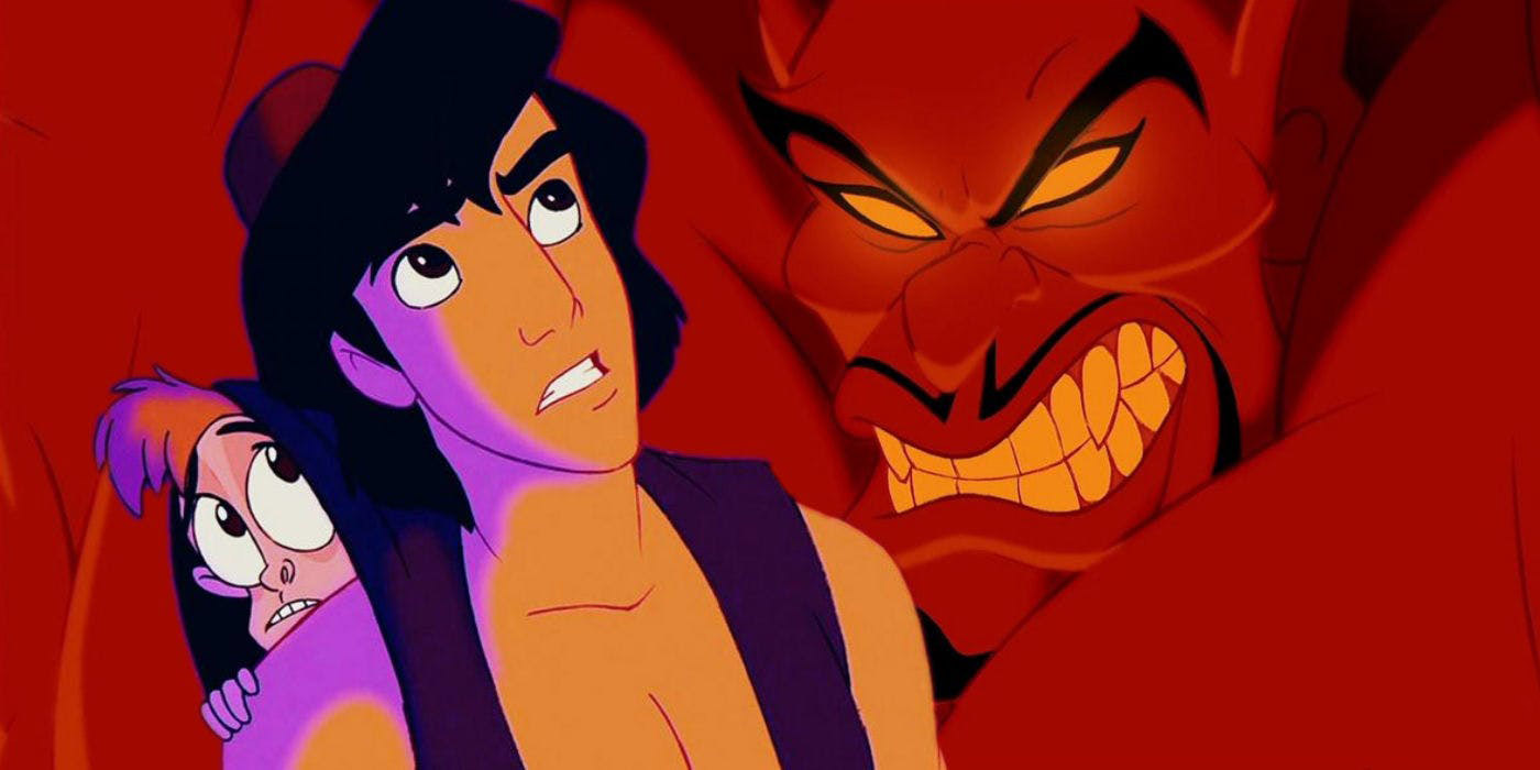 Image retour return jafar aladdin disney disneytoon