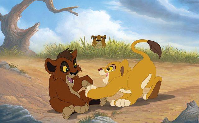 Image roi lion honneur tribu king simba pride disney disneytoon