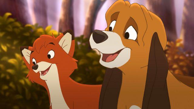 image rox rouky fox hound 2 disney