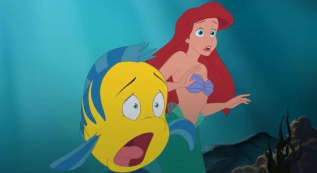 image secret petite sirène little mermaid ariel beginning disney