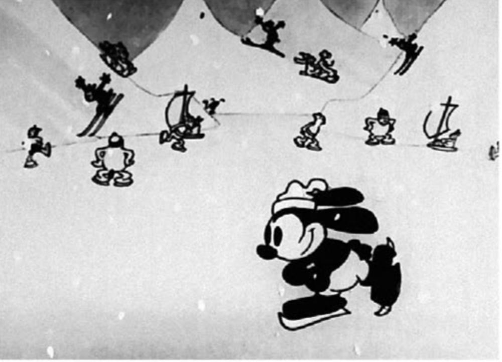 image sleigh bells disney oswald
