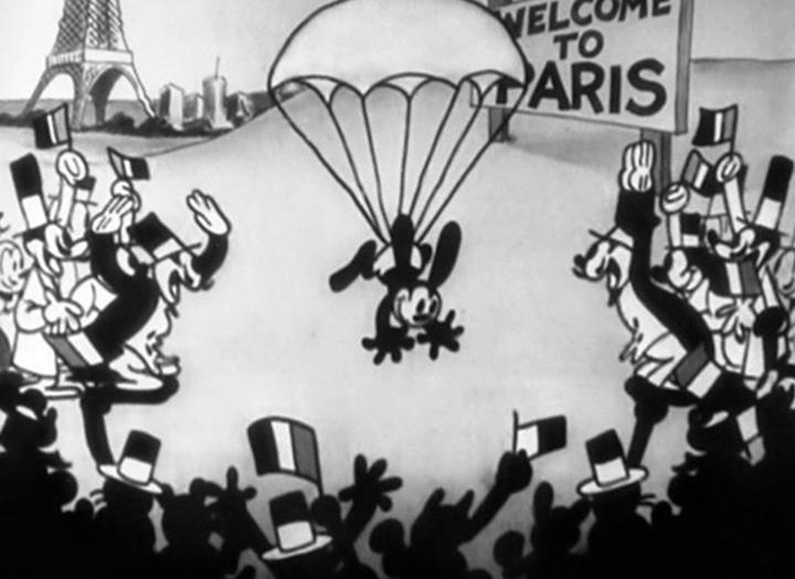 ocean hop Walt Disney Animation poster affiche oswald