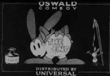 oswald Walt Disney Animation poster affiche