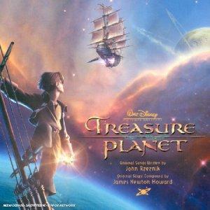planete tresor nouvel univers Disney bande originale soundtrack album treasure planet