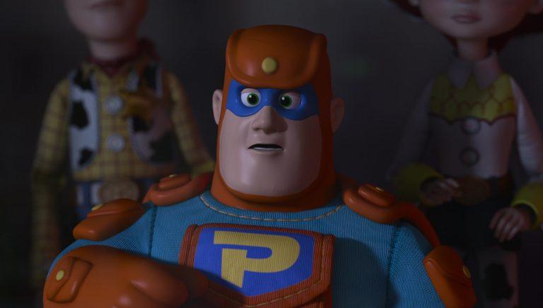 """Pochette, personnage dans """"Toy Story : Angoisse au motel""""."""