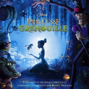 princesse grenouille frog Disney bande originale soundtrack album