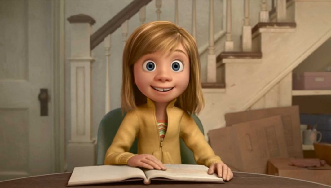 riley personnage vice versa character inside out Pixar Disney