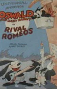 rival romeo Walt Disney Animation poster affiche oswald