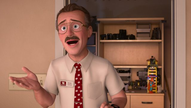 ron thompkins personnage character toy story angoisse motel terror disney pixar