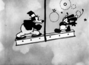 sky scrappers Walt Disney Animation poster affiche oswald