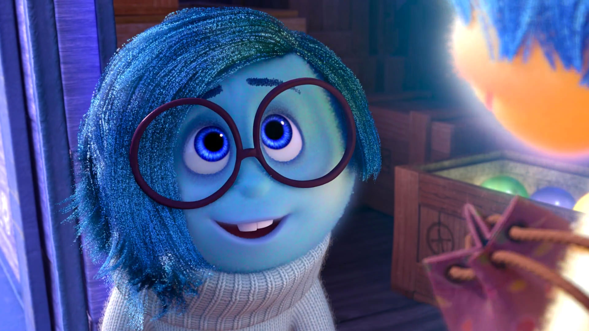 tristesse sadness pixar disney character personnage vice-versa inside out