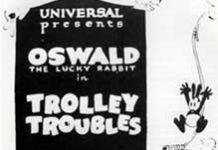 trolley troubles Walt Disney Animation poster affiche oswald