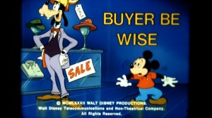 Disney Buyer be wise