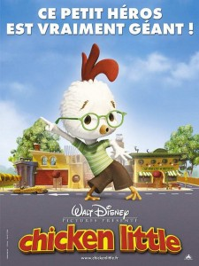 Disney Chicken little court-metrage