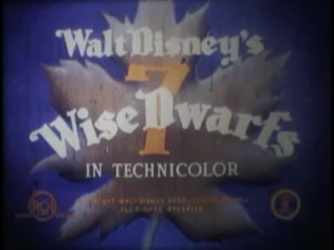 Disney Seven wise Dwarves