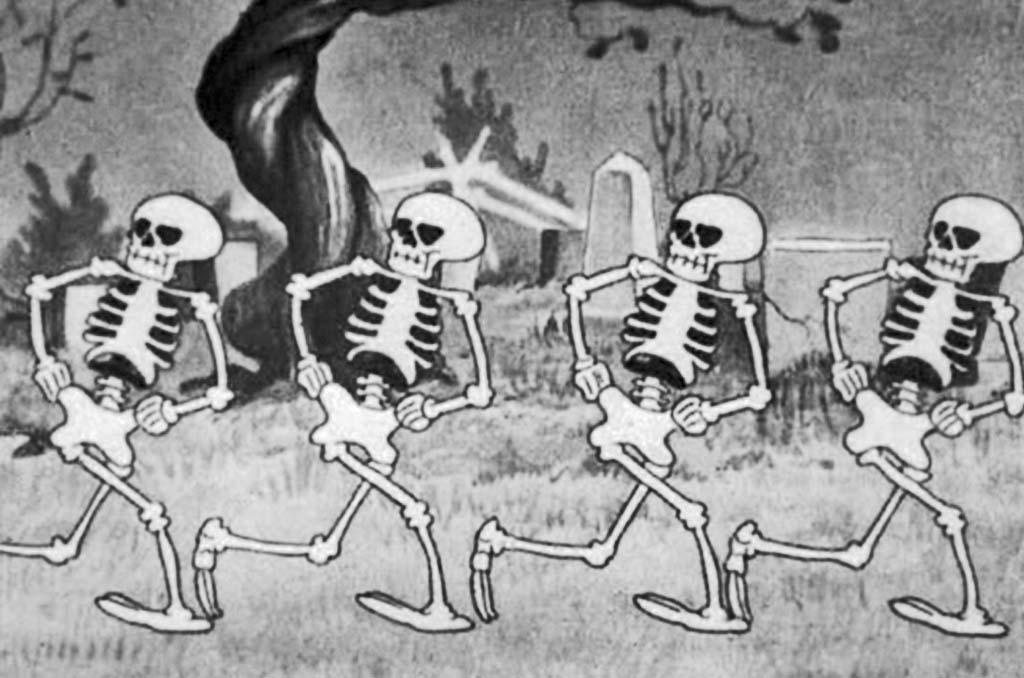 Disney Silly Symphony danse macabre