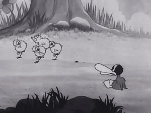 Disney Silly Symphony le vilain petit canard