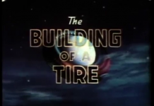 Disney Illustration the Building of a Tire