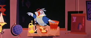 Disney Animation Illustration les instruments de musique