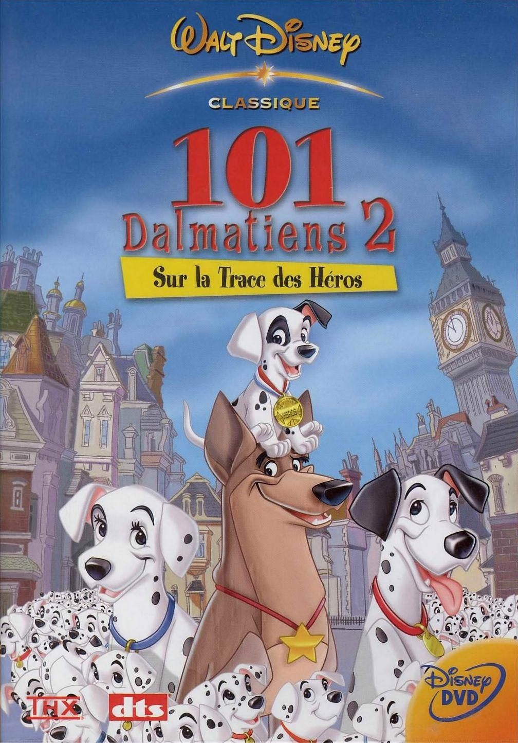 affiche poster 101 dalmatiens dalmatians 2 trace héros patch london adventure disney