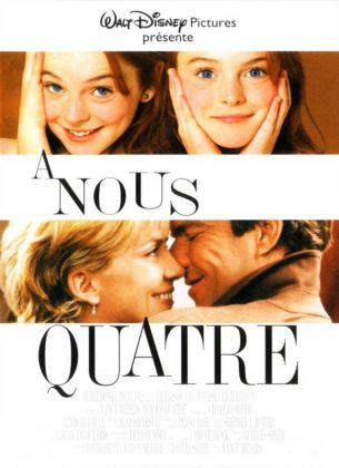 Affiche a nous quatre parent trap disney