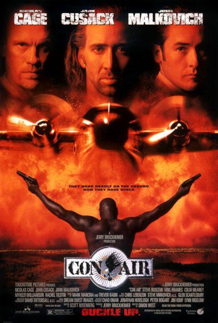 Affiche Poster Les ailes de l'enfer Con Air Disney Touchstone Pictures