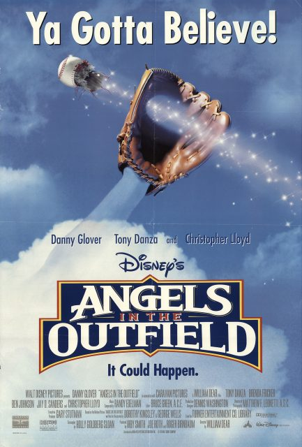 Affiche Poster angels équipe anges Outfield disney