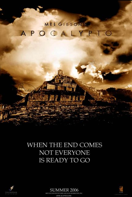 Disney touchstone affiche apocalypto poster