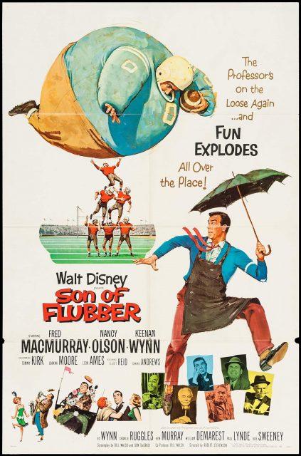 Affiche poster après lui déluge son flubber disney