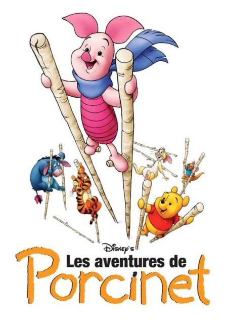 affiche aventures porcinet piglet big movie disney